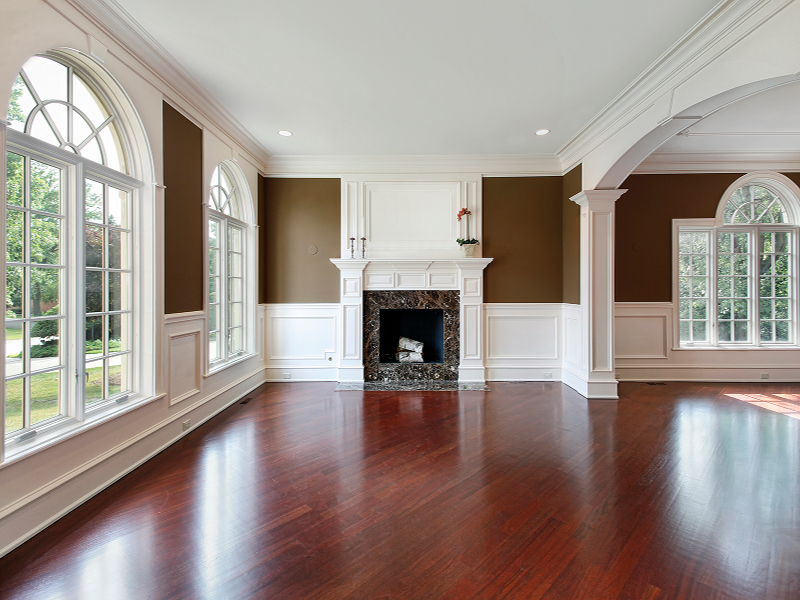 Raleigh 39 s hardwood and laminate flooring specialist for Living room ideas with dark hardwood floors